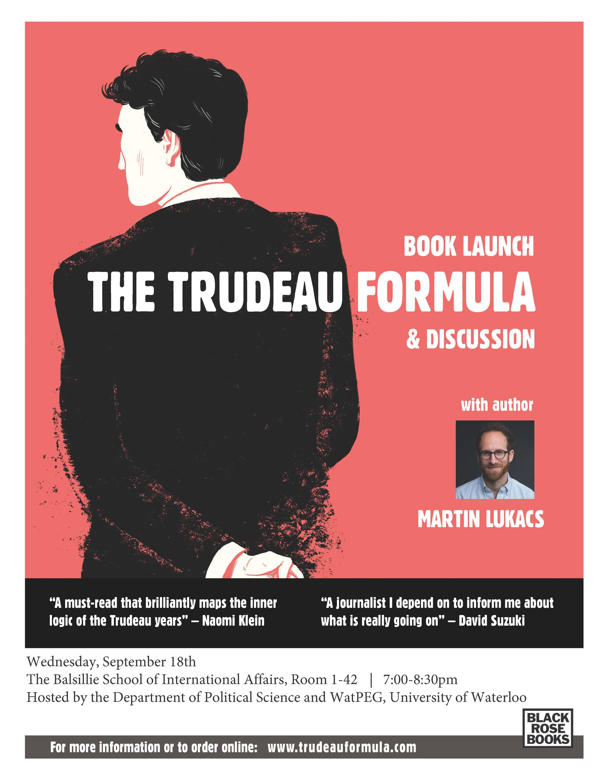Martin Lukacs talk poster.