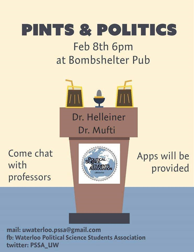 pints and politics information page