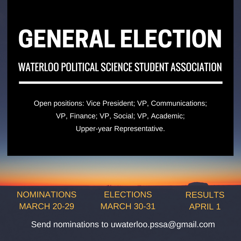 PSSA elections poster