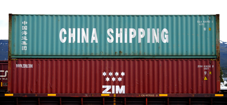 Shipping containers from China