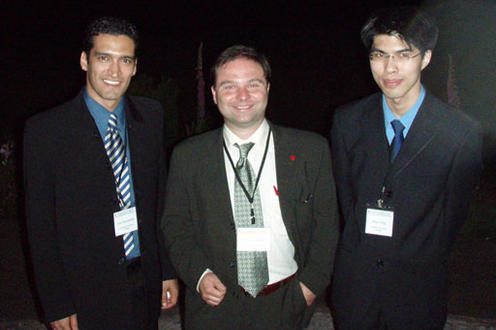 CIRP High Performance Cutting (HPC'06) Conference Vancouver, June 2006. Three people standing in suits.