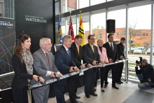 President Hamdullahpur and community leaders open Stratford Campus.