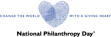 National Philanthropy Day logo