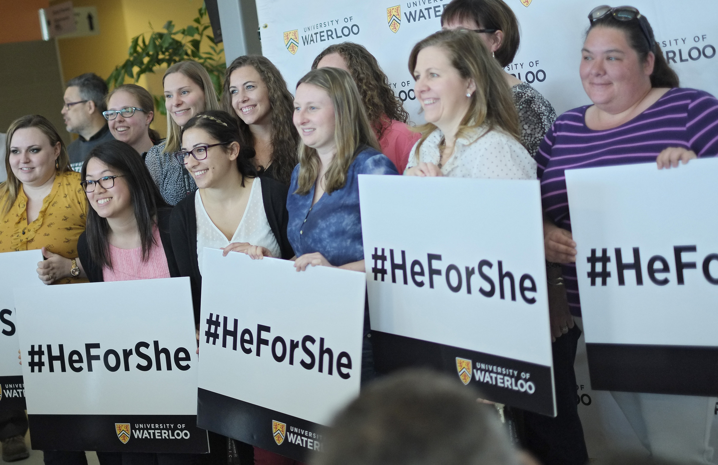 HeForShe supports at Waterloo