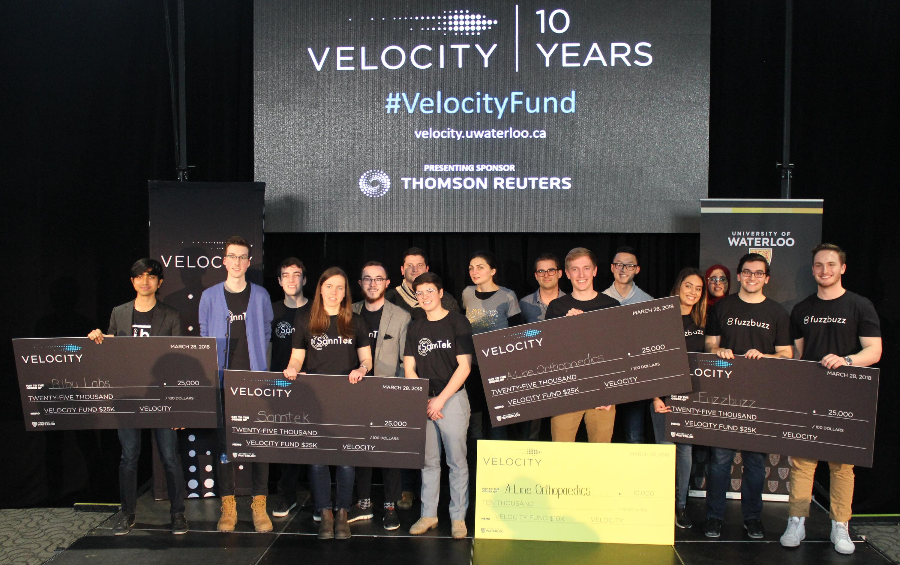 Velocity fund final winners