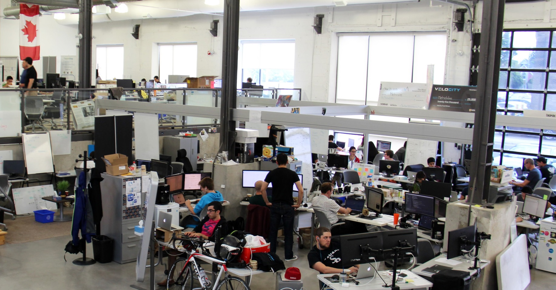 Velocity garage workspace
