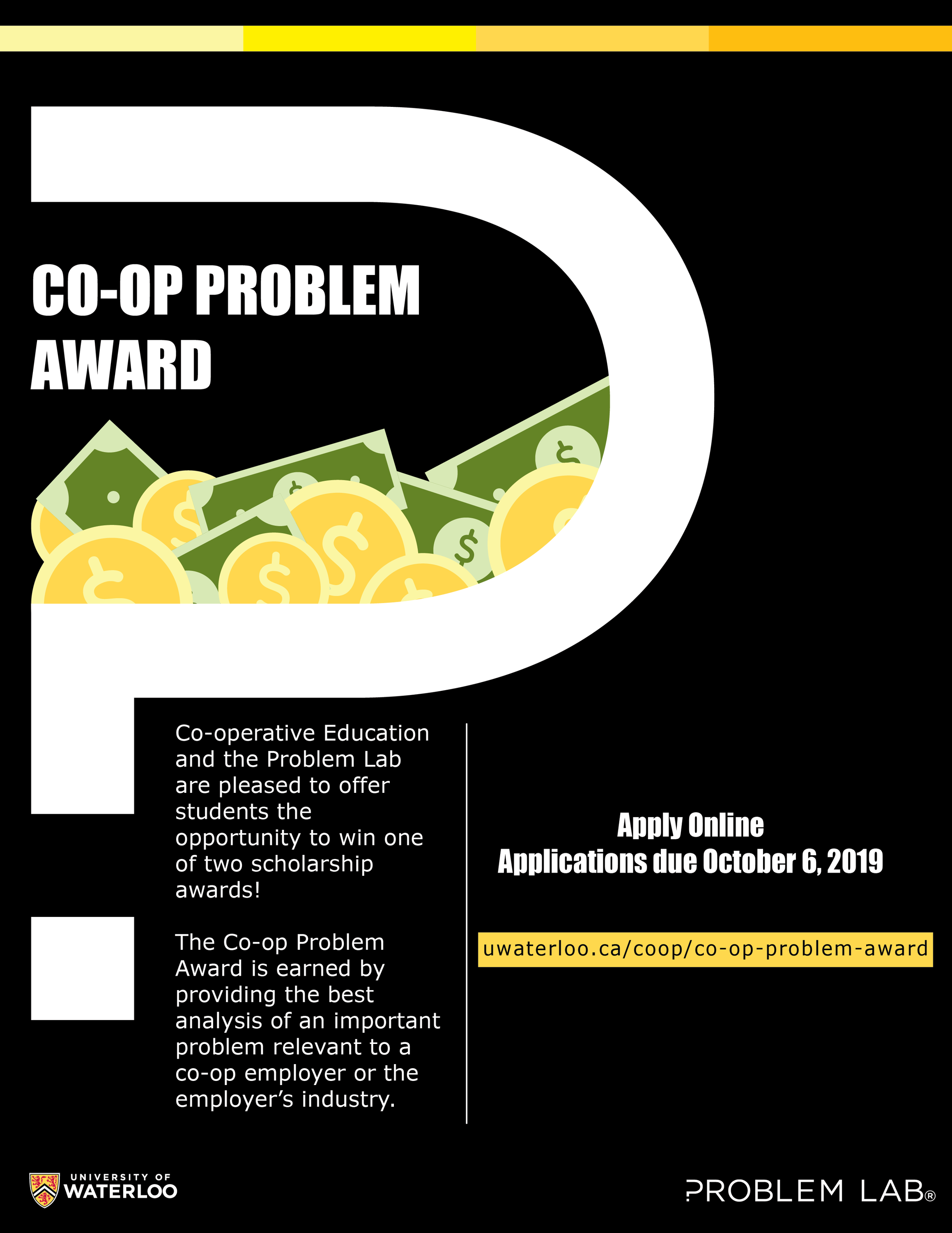 co-op problem award poster