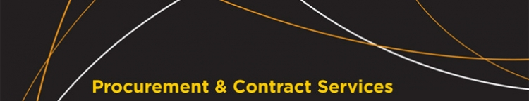 Procurement and Contract Services banner photo