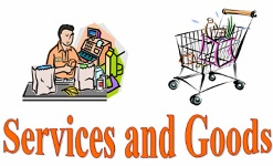 services and goods