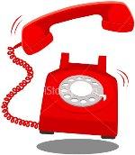 a ringing telephone