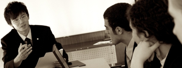 Discussion during meeting