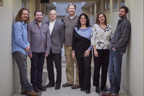Cognitive Neuroscience Faculty group photo