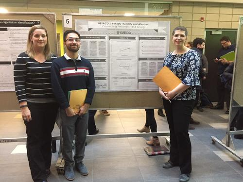 Psychology Undergraduate Student Poster Presenters