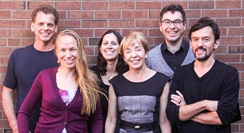Social Factulty L to R Ian MacGregor, Hilary Bergsieker, Abby Scholer, Joanne Wood, Igor Grossmann, Richard Eibach