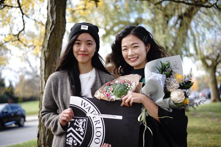 Photo of UW students