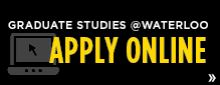 Graduate Studies uWaterloo Apply Online
