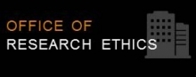 Office of research ethics button
