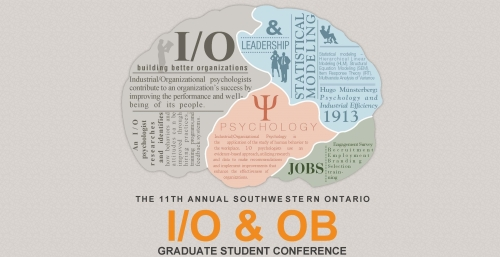 he 11th Annual Southwestern Ontario Industrial/Organizational Psychology and Organizational Behaviour (I/O & OB) logo