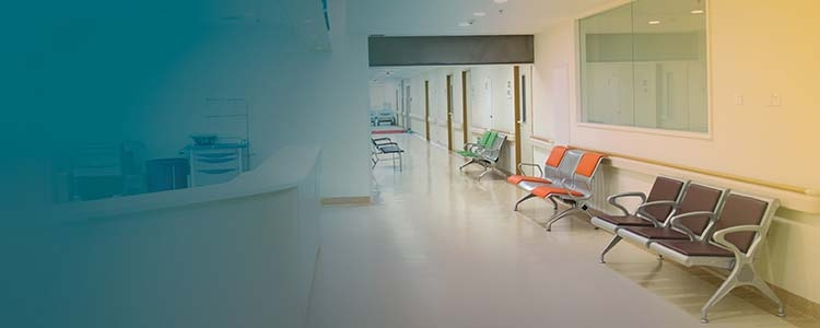 Waiting room in hospital