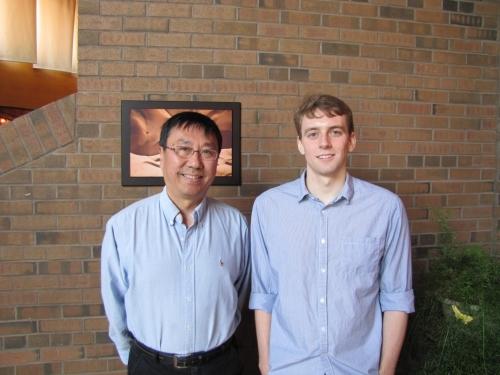 Professor Ming Li and Matthew Harrison-Trainor