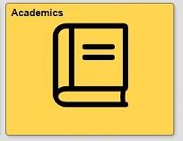 Academics tile in quest