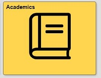 Academics tile in quest