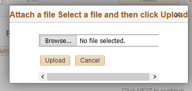 Attach file image