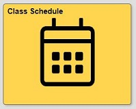 Class schedule tile in quest