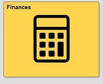 Finances tile in quest