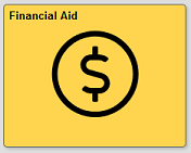Financial Aid tile in quest