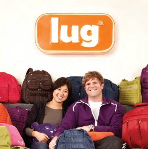Ami and Jason Richter with Lug products