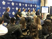 MLSE Panel of Experts at the Toronto Marlies Game