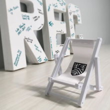 The event take-away, a mini beach chair