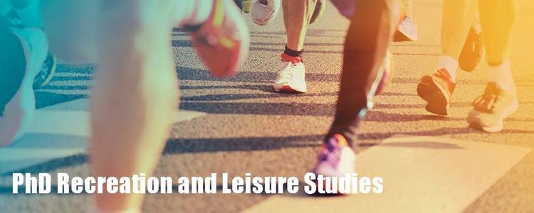 Abstract photo of feet running representing PhD Recreation and Leisure Studies