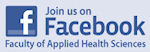 Join us on Facebook Faculty of Applied Health Sciences.