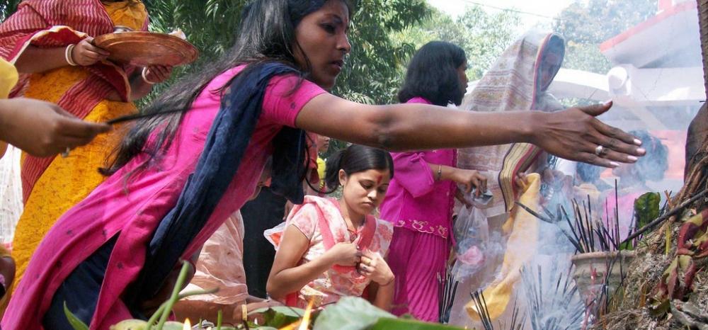Hindu religious ceremony.
