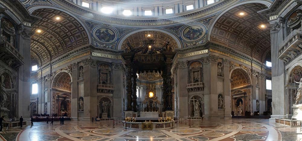 Vatican altar.