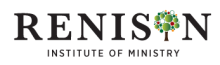 Renison Institute of Ministry logo