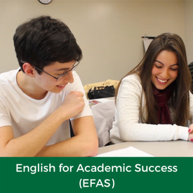 English for Academic Success (EFAS)