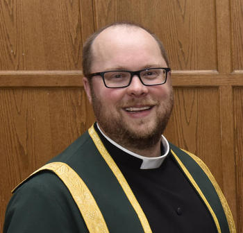 Headshot of The Rev. Canon Matthew Griffin, Chair of the Board of Governors