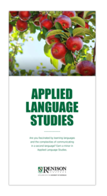 Applied Language Studies brochure