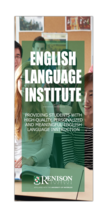 English Language Institute brochure