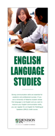 English Language Studies brochure