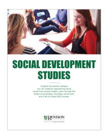 Social Development Studies Brochure