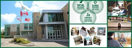 Collage of pictures from Renison University College