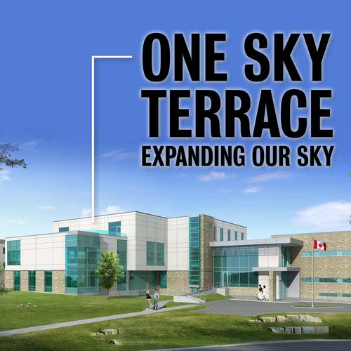 One Sky Terrace - Expanding our Sky with building in background.