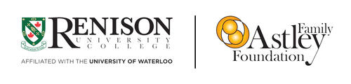 Logos of Renison University College and the Astley Family Foundation