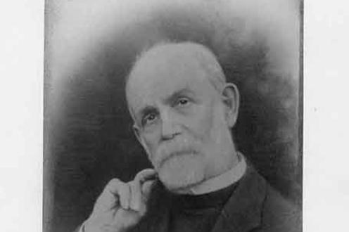 Photograph of the Reverend Canon Robert Renison