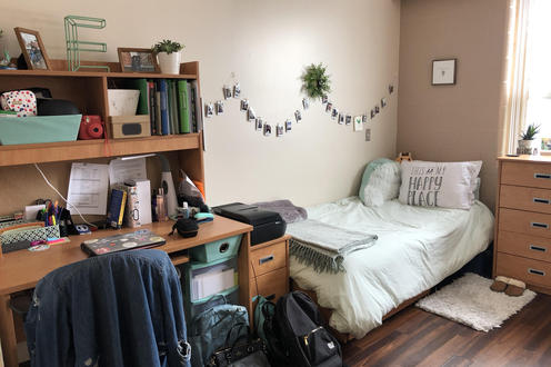 Link style residence room