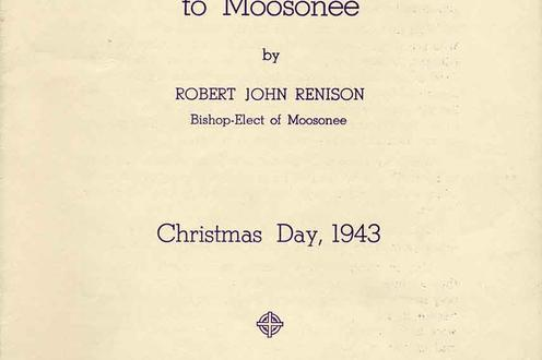 "Booklet ""A Christmas Message to Moosonee 1943."""